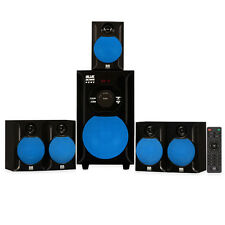 Blue Octave B51 Home Theater 5.1 Powered Speaker System with FM Tuner USB / SD