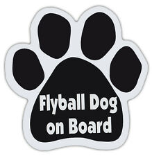 Dog Paw Shaped Magnets: FLYBALL DOG ON BOARD | Dogs, Gifts, Cars, Trucks