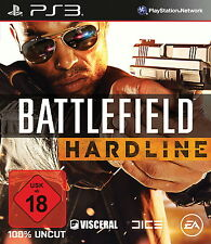 PS3 Battlefield Hardline NEW