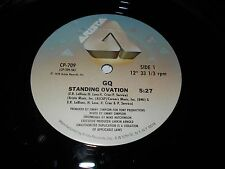"GQ - Standing Ovation b/w Reasons For The Seasons 2"" Single Funk Soul Disco"