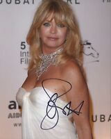 GOLDIE HAWN SIGNED 10x8 PHOTOGRAPH - UACC & AFTAL RD AUTOGRAPH