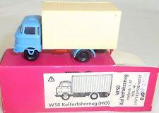 W50 Kofferfahrzeug MINI CAR ehemals ESPEWE DDR VEB OVP H0 1:87 #HN5    å
