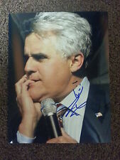 JAY LENO SIGNED AUTOGRAPHED 8.5X11 PHOTO THE TONIGHT SHOW WITH PROOF