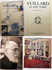 NABIS/VUILLARD ET SON TEMPS/C.R.MARX/ED ARTSET METIERS GRAPHIQUES/1946