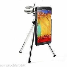 Zoom OtticoTeleobiettivo Fotografico 12X con Treppiedi per Samsung Note 3