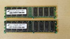1GB (2x 512MB) PC3200U DDR Memory RAM for DELL Dimension 1100 2400 3000