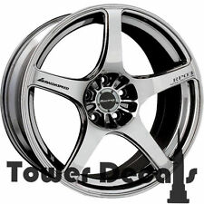 5x - Mazdaspeed Racing- Mazda MS3, MS6, MX5 Wheels Rim Vinyl Decal Accessory