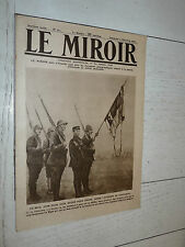 MIROIR 09/12 1917 GUERRE 14/18 PALESTINE ITALIE PIAVE USA PIGEONS CAMBRESIS