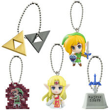 Official Zelda: A Link Between Worlds figure keychain set of 5 Master Sword ...