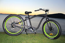 Fat Tire Cruiser Electric Bike  (we carry spare parts as well) VERY IMPORTANT!!!