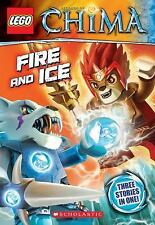 LEGO Legends of Chima: Fire and Ice (Chapter Book #6), Farshtey, Greg, Good Book