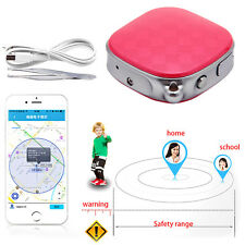 Mini GPS Tracker Locator GSM GPRS SOS Tracking for Child Elder Pet Cat Vehicle