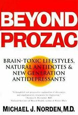 Beyond Prozac : Antidotes for Modern Times by Michael J. Norden 1995 Softcover