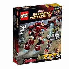 LEGO 76031 MARVEL SUPER HEROES: THE HULK BUSTER SMASH BRAND NEW AND SEALED MISB