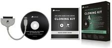 Corsair SSD and Hard Disk Drive Cloning Kit with USB 3.0 Cable and Migration