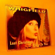 MAXI Single CD Whigfield Last Christmas 8TR 1995 ZYX House Electro RARE !