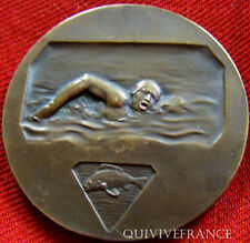 MED2789 - MEDAILLE ART DECO NATATION MARSEILLE- FRENCH MEDAL