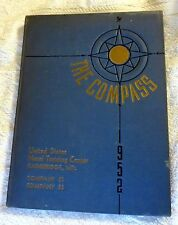 1952 The Compass Company 91 93 US Naval Training Center Bainbridge Maryland Book