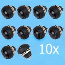 10x12mm black Waterproof Mini Round Momentary Push Button Toggle Switch Sales GC