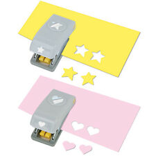 HEART AND STAR EK Success Tools Mini Punches 54-10075 Brand NEW! love wedding