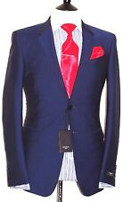 BNWT MENS PAUL SMITH THE BYARD  LONDON PETROL DARK BLUE TAILORED SUIT 42R W36