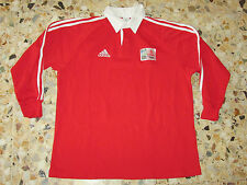 maillot shirt jersey rugby IRB WORLD CUP 2007 ADIDAS EMIRATES COUPE MONDE WALES