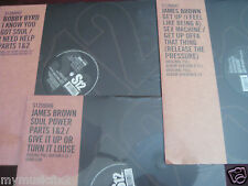 JAMES BROWN RARE SEX MACHINE/POWER Sealed 12 INCH 45 Speed LP SINGLES UK PRESSED