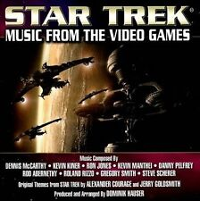 Star Trek: Music from the Video Games (CD, 2013, BSX Records)
