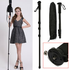 "67"" Camera Camcorder Monopod Travel Walking Stick"