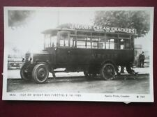 POSTCARD RP ISLE OF WIGHT BUS (VECTIS) 1925