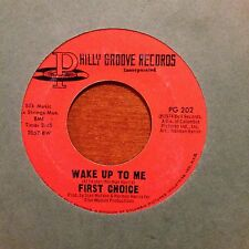 """First Choice-Wake Up To Me-Guilty-7"""" 45-Philly Groove-PG 202-Vinyl Record"""
