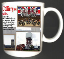 GRIMETHORPE COLLIERY COAL MINE MUG. LIMITED EDITION GIFT MINERS YORKSHIRE PIT