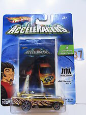 2004 HOT WHEELS ACCELERACERS JACK HAMMER GOLD #9/9  3 COLLECTIBLE GAME CARDS