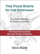THE FOUR STEPS TO THE EPIPHANY - STEVE BLANK (HARDCOVER) NEW