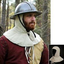 Full Padded Arming Cap For Helmet. Head & Neck Protection - Re-enactment or LARP