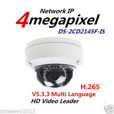 Hikvision H.265 IP Camera DS-2CD2145F-IS 4MP Dome Camera 1080P POE CCTV Camera