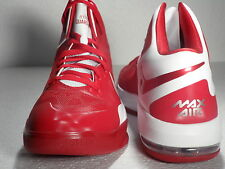 NIKE AIR MAX HYPERGUARDUP MEN SZ: 9.5 RED BASKETBALL NEW IN BOX RARE COMFORT!