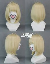 Ao No Blue Exorcist Shiemi Moriyama Anime Cosplay Costume Wig + Free CAP