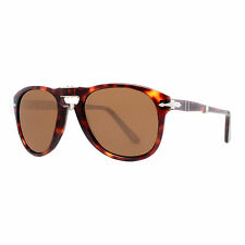 Persol PO 714 24/57 52mm Havana Polarized Brown Folding Sunglasses