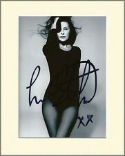 LISA STANSFIELD IN PANTYHOSE TIGHTS PP 8x10 MOUNTED SIGNED AUTOGRAPH PHOTO