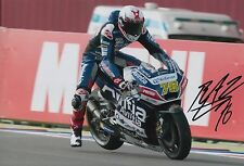 Loris Baz Hand Signed 12x8 Photo Avintia Racing Ducati 2016 MOTOGP 3.