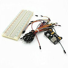 New Breadboard 840 Point Power Supply Module PCB Board Arduino MB102 Converter