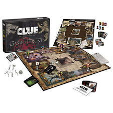 GAME OF THRONES CLUEDO CLUE TRONO DI SPADE BOARD GAMES GIOCO DA TAVOLA STARK #1