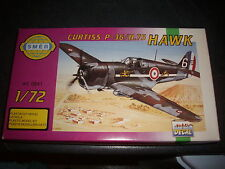 SMER  CURTISS P-36/H.75 HAWK  PLASTIC MODEL 1/72