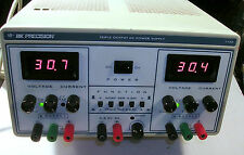 BK PRECISION DC POWER SUPPLY TRIPLE OUTPUT MODEL 1760 TESTED