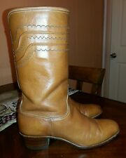 Lucchese 1883 San Antonio Brown Western Riding Boots Size 7.5 B  Nice!!!