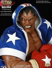 Pop Culture Shock Street Fighter BALROG Statue USA ROBE Exclusive