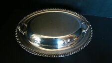 New listing Wm. Rogers Silverplate Serving Dish With Cover Or 2 Serving Dishes