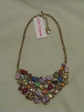 Betsey Johnson 'Sweet Shop' Crystal Candy Necklace Gorgeous Style! NWT