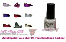 10 x Magic Nail-Art Folie Transferfolie + 5ml Spezial Folienkleber Überraschung